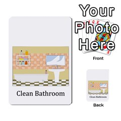 Chore Cards By Brenda   Multi Purpose Cards (rectangle)   Jjujowddjprl   Www Artscow Com Front 27