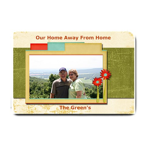 Wc & Karen s Door Mat For Rv By Wendy Green   Small Doormat   T9bnak8vo6xt   Www Artscow Com 24 x16 Door Mat - 1