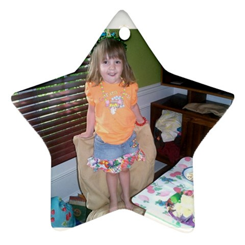 Lexi By Amy Dendy   Ornament (star)   Gj15zp36ln8t   Www Artscow Com Front