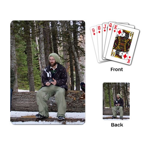 Joey s Playin Cards By Sydne Burt   Playing Cards Single Design   Y6a3zq9hlajj   Www Artscow Com Back