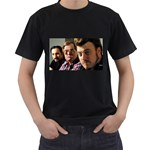 Ricky - Men s T-Shirt (Black) (Two Sided)