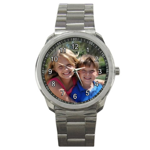 Tiffanie s Personalized Sports Watch By Tiffanie Springer Beecham   Sport Metal Watch   Bgt22bd90wpb   Www Artscow Com Front