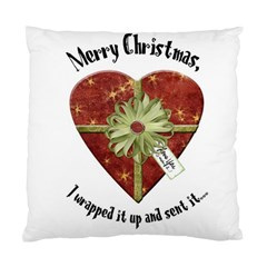 Christmas Pillow By Kellie   Standard Cushion Case (two Sides)   8iyaqkpaiqb9   Www Artscow Com Front