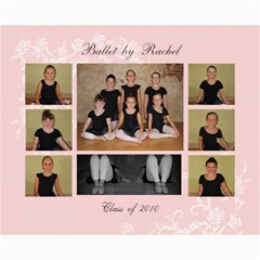 Ballet By Rachel 2010 By Shelley Chambers   Collage 8  X 10    Bvg572joznx8   Www Artscow Com 10 x8 Print - 4