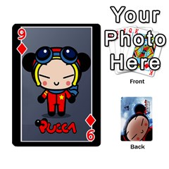 Puccacardnew By Nikole   Playing Cards 54 Designs   O8eedcu4he93   Www Artscow Com Front - Diamond9