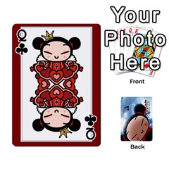 Queen Puccacardnew By Nikole   Playing Cards 54 Designs   O8eedcu4he93   Www Artscow Com Front - ClubQ