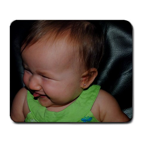 Moe Moe s I Love Bella Look By Sandy   Large Mousepad   2rmvnxw2bpne   Www Artscow Com Front