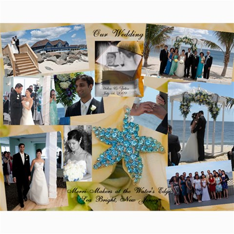 Wedding By Helen Wang   Collage 8  X 10    Eook6y7swf7p   Www Artscow Com 10 x8  Print - 1