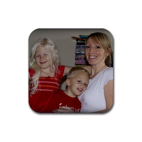 Mommy Coaster By Heidi Broecker   Rubber Coaster (square)   81aa3tkr0ulk   Www Artscow Com Front