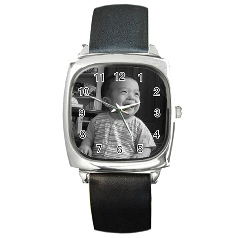 By May   Square Metal Watch   N700phrcl0w9   Www Artscow Com Front
