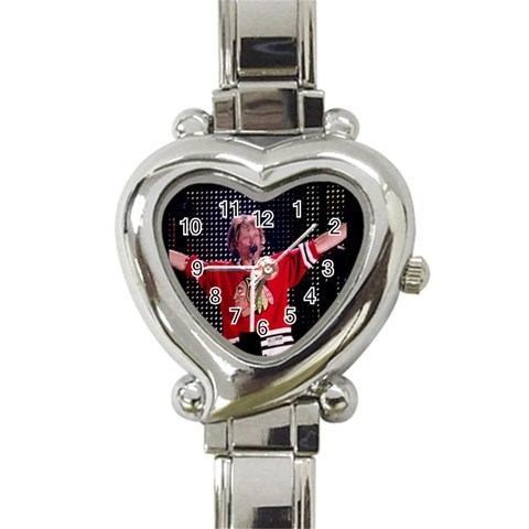 My New Jon Bon Jovi Watch By Sandra Simmons   Heart Italian Charm Watch   T9emir0lamw3   Www Artscow Com Front