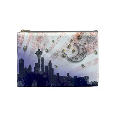 Seattle Stars By Annette Aguirre   Cosmetic Bag (medium)   Gf4wwi2s55y8   Www Artscow Com Front