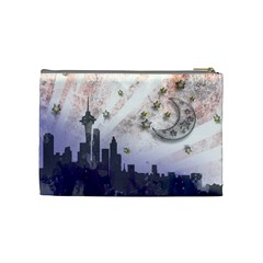 Seattle Stars By Annette Aguirre   Cosmetic Bag (medium)   Gf4wwi2s55y8   Www Artscow Com Back