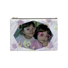 Necessaireclau By Priscilla   Cosmetic Bag (medium)   Nxg45r3a3wc7   Www Artscow Com Front