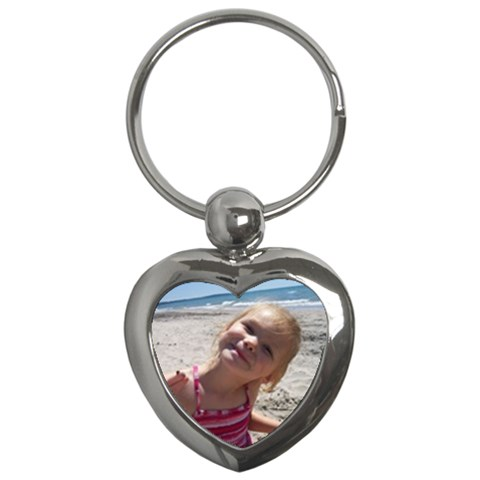 Keychain By Laura Mccrate   Key Chain (heart)   88oja6nqqio1   Www Artscow Com Front