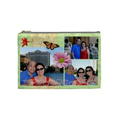Mom By Kim   Cosmetic Bag (medium)   Ejzhhq8ix82p   Www Artscow Com Front