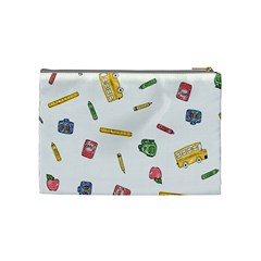 Teacher By Elena   Cosmetic Bag (medium)   Sutwp4zwwfq6   Www Artscow Com Back