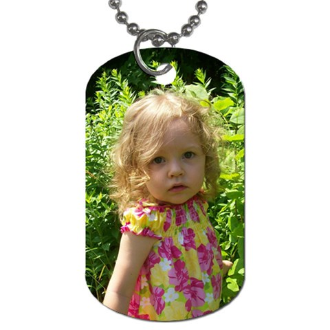 By Amy Merrill   Dog Tag (one Side)   9ng3h86dprv1   Www Artscow Com Front