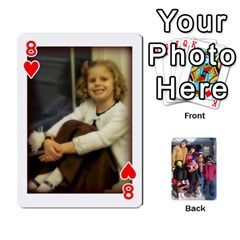 Ober Cards By Marjann   Playing Cards 54 Designs   U1j2i0jh2u7w   Www Artscow Com Front - Heart8
