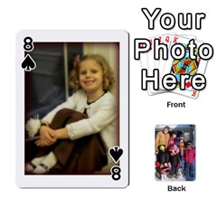 Ober Cards By Marjann   Playing Cards 54 Designs   U1j2i0jh2u7w   Www Artscow Com Front - Spade8