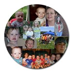 My Family Mousepad - Collage Round Mousepad