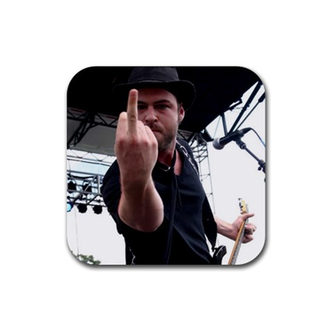 Fingercoaster By Coon   Rubber Coaster (square)   Zpli2yfz4fpt   Www Artscow Com Front