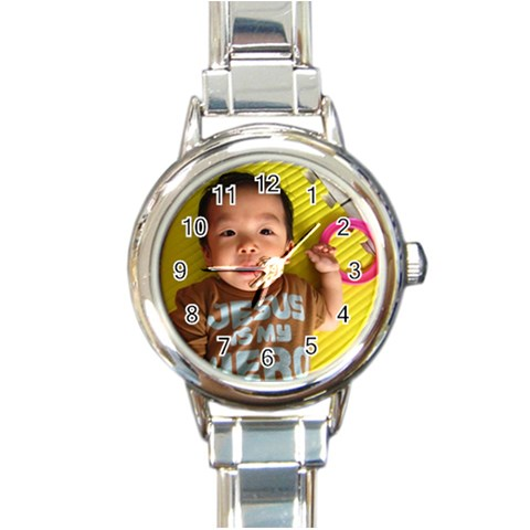 By May   Round Italian Charm Watch   N2o5pgqmjps4   Www Artscow Com Front