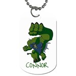 the Dog tag I made for Connor! - Dog Tag (Two Sides)