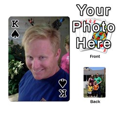 King Etter Deck Of Cards By Nicki Etter   Playing Cards 54 Designs   Mc4dj6no8y9j   Www Artscow Com Front - SpadeK