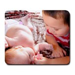 my babes - Large Mousepad
