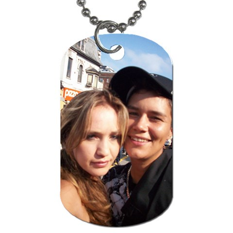 The Dog Tag I Made For Sherry   By Amy   Dog Tag (one Side)   14regtkxp292   Www Artscow Com Front