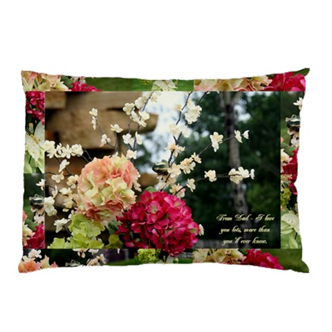 My Pillow By Naomi Thompson   Pillow Case   Vqmtzsgr3kjh   Www Artscow Com 26.62 x18.9 Pillow Case