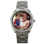 personalized watched make great gifts for friends and family - Sport Metal Watch