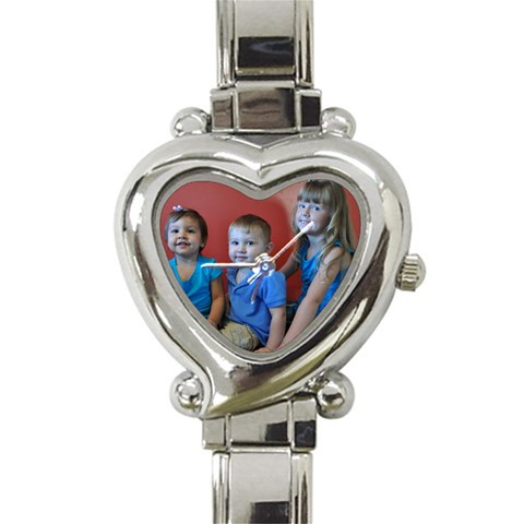 Moms Watch By Christy Fralin   Heart Italian Charm Watch   Yw8w64ma3rn0   Www Artscow Com Front