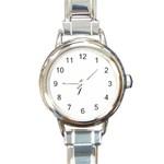 Scentsy Watch - Round Italian Charm Watch