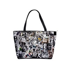 Collage Bag By Nena   Classic Shoulder Handbag   6m43q9efcr1a   Www Artscow Com Front