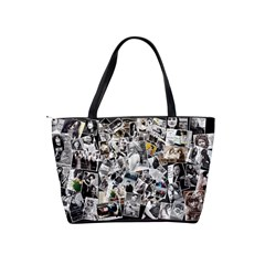 Collage Bag By Nena   Classic Shoulder Handbag   6m43q9efcr1a   Www Artscow Com Back