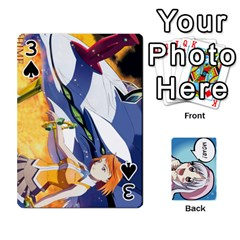 Anime By Brian Samuelson   Playing Cards 54 Designs   Iomrcub27629   Www Artscow Com Front - Spade3