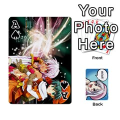 Ace Anime By Brian Samuelson   Playing Cards 54 Designs   Iomrcub27629   Www Artscow Com Front - SpadeA