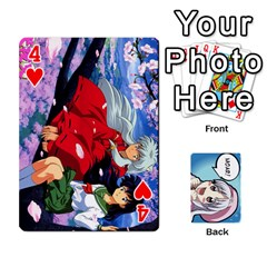 Anime By Brian Samuelson   Playing Cards 54 Designs   Iomrcub27629   Www Artscow Com Front - Heart4