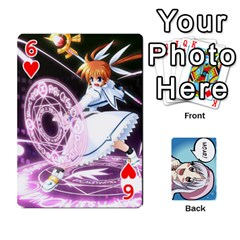 Anime By Brian Samuelson   Playing Cards 54 Designs   Iomrcub27629   Www Artscow Com Front - Heart6