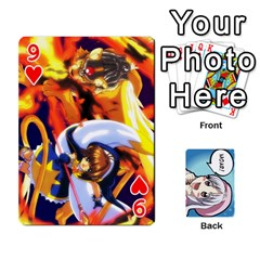 Anime By Brian Samuelson   Playing Cards 54 Designs   Iomrcub27629   Www Artscow Com Front - Heart9