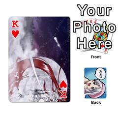 King Anime By Brian Samuelson   Playing Cards 54 Designs   Iomrcub27629   Www Artscow Com Front - HeartK