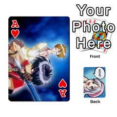 Ace Anime By Brian Samuelson   Playing Cards 54 Designs   Iomrcub27629   Www Artscow Com Front - HeartA