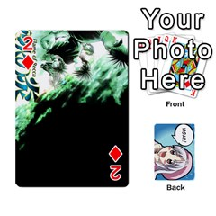 Anime By Brian Samuelson   Playing Cards 54 Designs   Iomrcub27629   Www Artscow Com Front - Diamond2