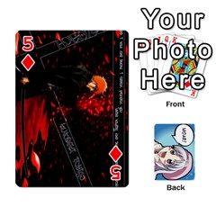 Anime By Brian Samuelson   Playing Cards 54 Designs   Iomrcub27629   Www Artscow Com Front - Diamond5