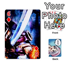 Anime By Brian Samuelson   Playing Cards 54 Designs   Iomrcub27629   Www Artscow Com Front - Diamond6