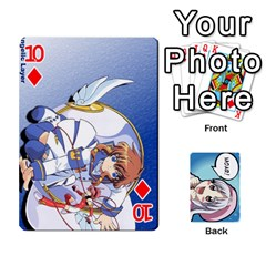 Anime By Brian Samuelson   Playing Cards 54 Designs   Iomrcub27629   Www Artscow Com Front - Diamond10