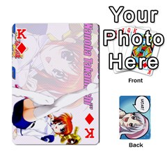 King Anime By Brian Samuelson   Playing Cards 54 Designs   Iomrcub27629   Www Artscow Com Front - DiamondK