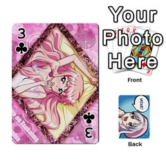 Anime By Brian Samuelson   Playing Cards 54 Designs   Iomrcub27629   Www Artscow Com Front - Club3